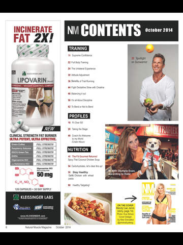 Natural Muscle Magazine screenshot 7