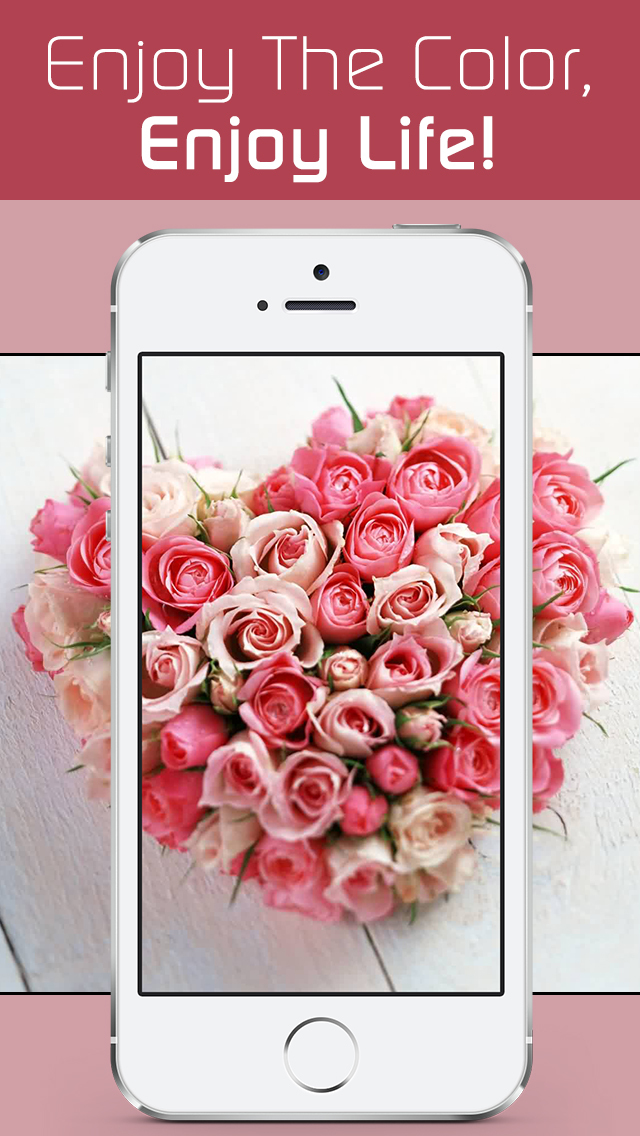 Love Wallpapers HD, Romantic Backgrounds & Valentine's Day Cards screenshot 5