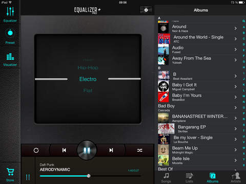 Equalizer+ pro: music player & bass booster screenshot 8