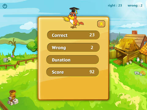 Animals 123 for count animals, primary maths, number game screenshot 4