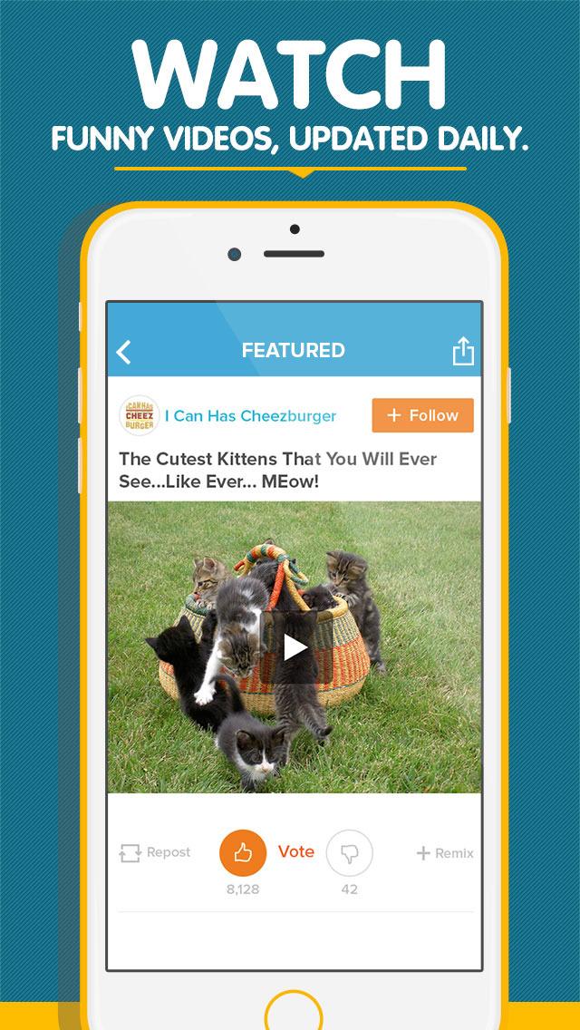 Cheezburger - Funny Memes, Videos, Pics and GIFs screenshot 5