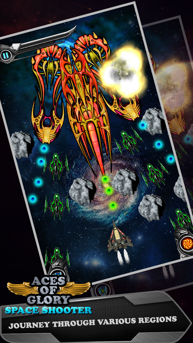 Aces of Glory in Galaxy - Defying Gravity and Targeting Alien Planet screenshot 4