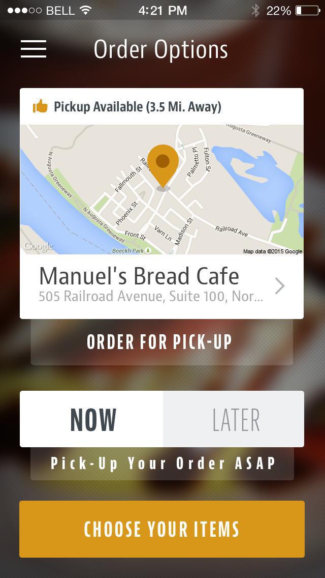 Manuel's Bread Cafe screenshot 2