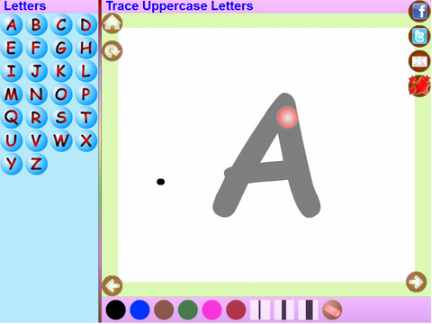 Trace Sanskrit And English Alphabets Kids Activity screenshot 6