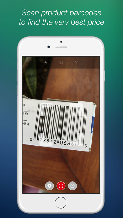 barcode scanner app for iphone scan qr code and barcode reader on the app 16611
