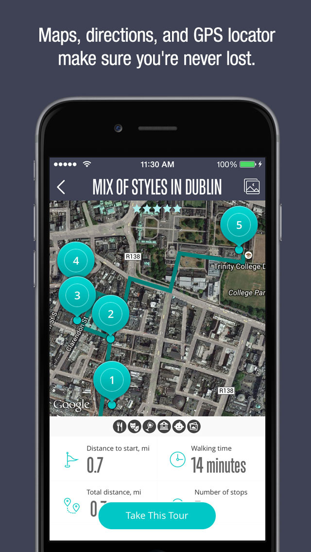 Kamino – Local walking tours, wherever you are! screenshot 5