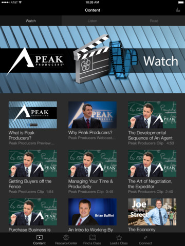 Buffini & Company Peak Producers App screenshot 4