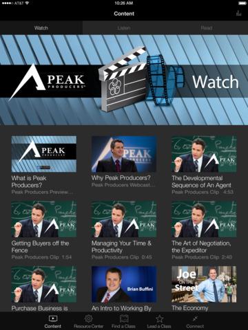 Buffini & Company Peak Producers App screenshot 4