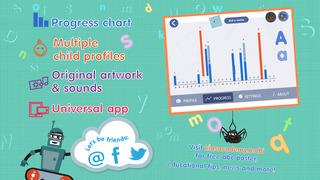 ABCs alphabet phonics games for kids based on Montessori learining approach screenshot 4
