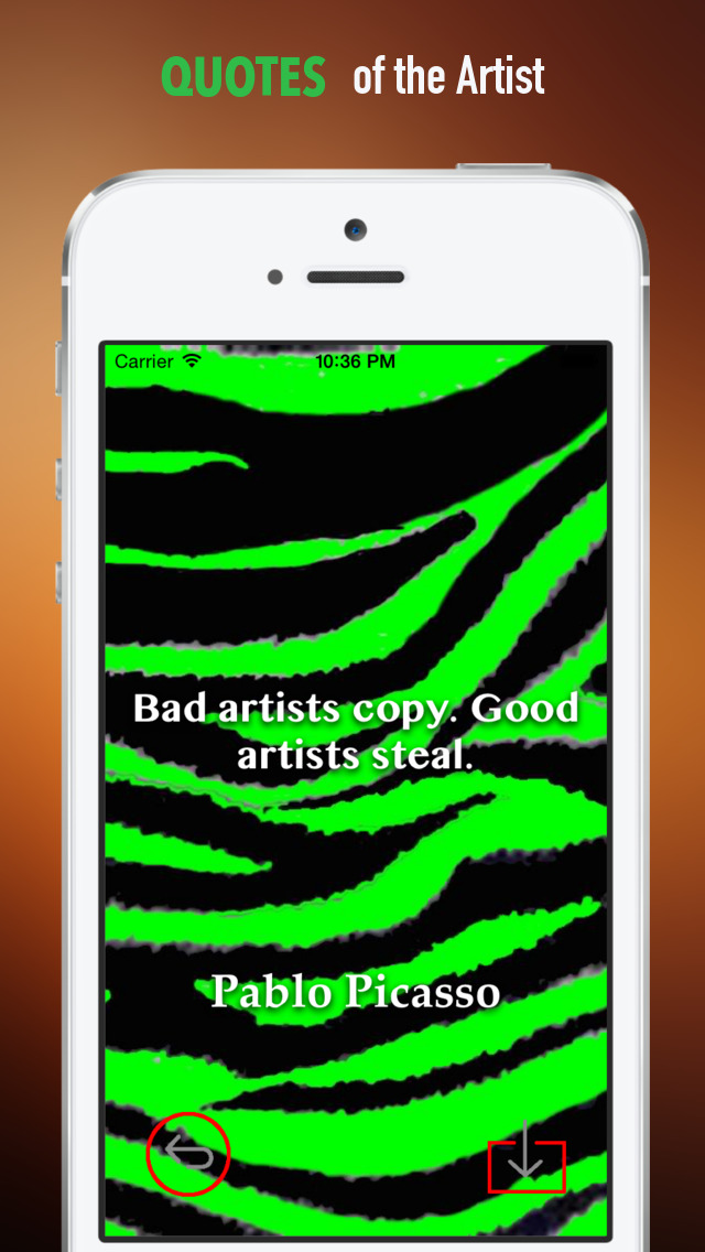 Zebra Print Wallpapers HD: Quotes Backgrounds Creator with Best Designs and Patterns screenshot 4