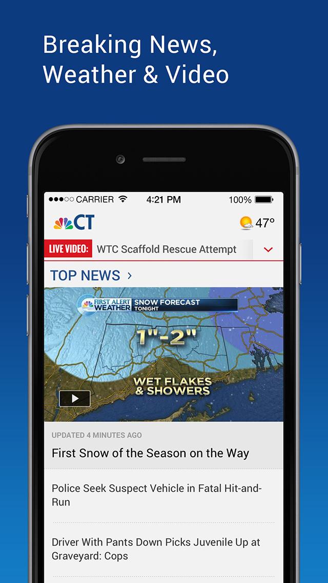 NBC Connecticut screenshot 1