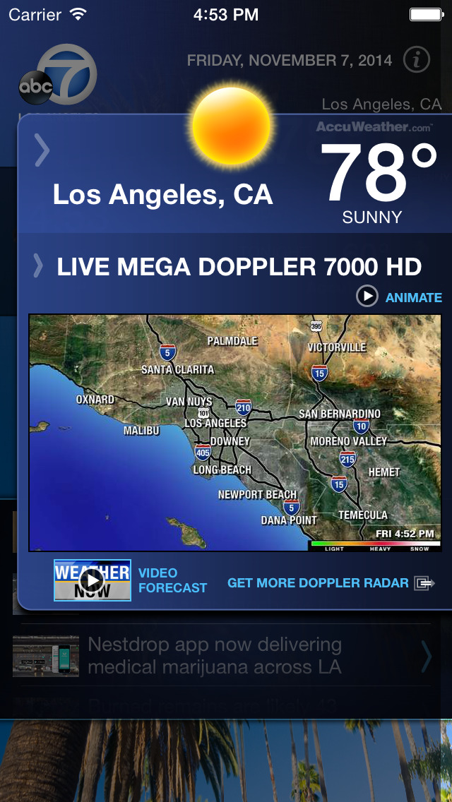 ABC7 Los Angeles Alarm Clock screenshot 3