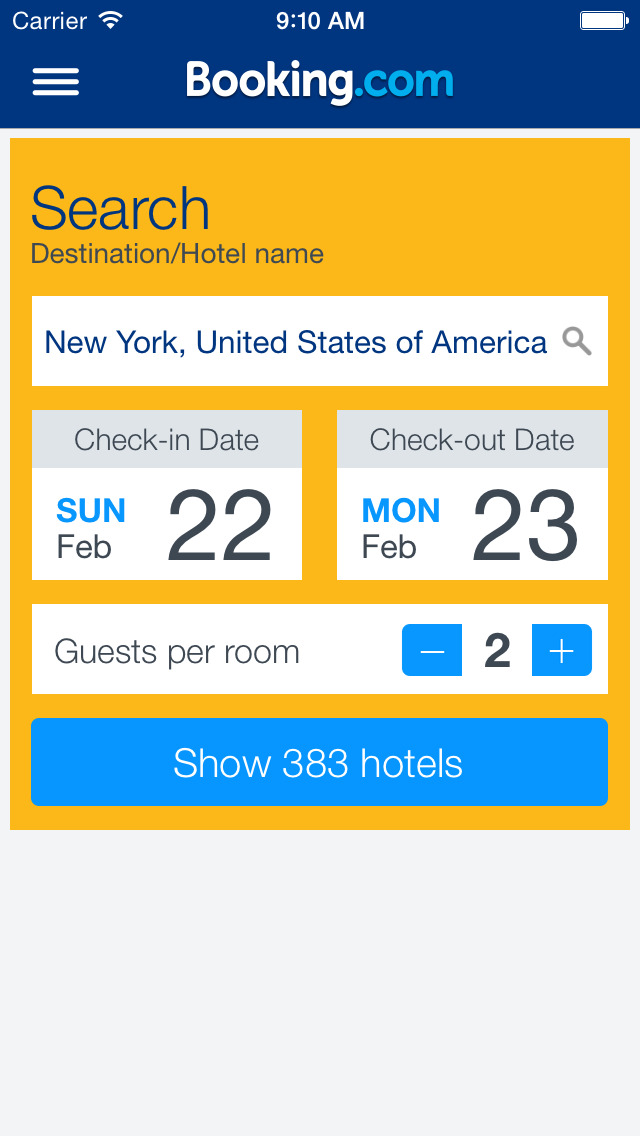 Booking.com: Hotels & Travel screenshot 1