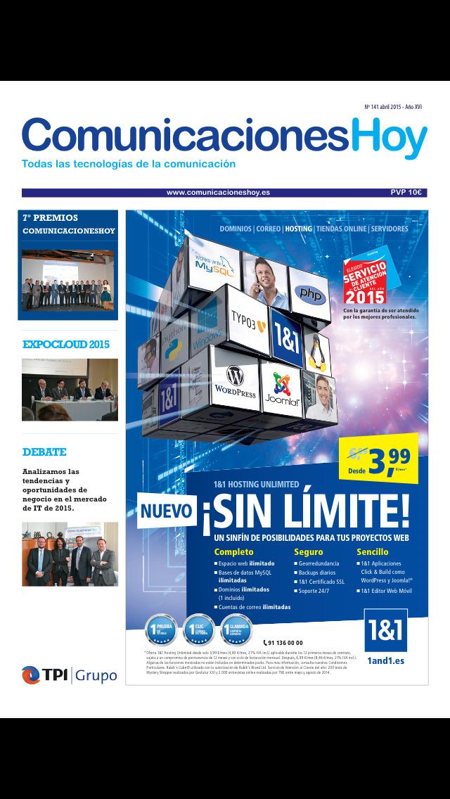 Comunicaciones Hoy screenshot 1