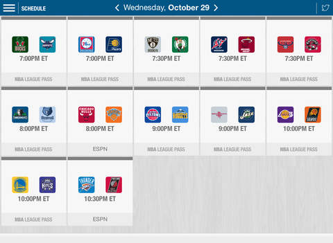 NBA: Official App screenshot 8