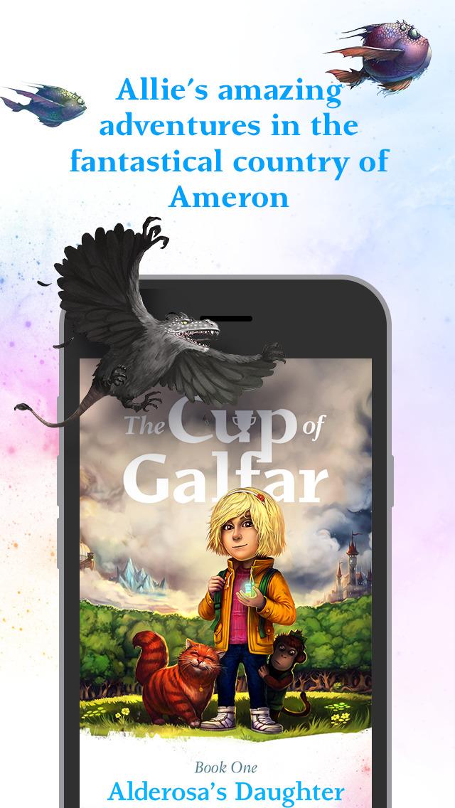 The Cup of Galfar: Fantasy story and hero's novel screenshot 1
