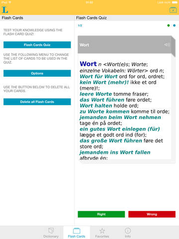 German Danish Dictionary screenshot 8