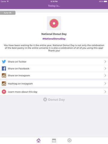 Donut Day - Discover New National Holidays Daily screenshot 7