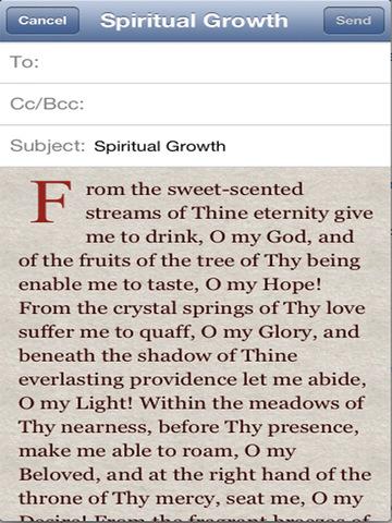 iPrayer Book - Abdu'l Baha Teachings screenshot 6