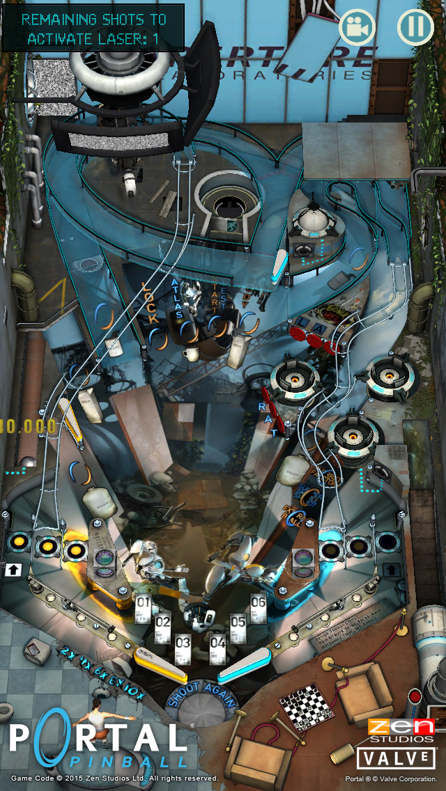 Portal ® Pinball screenshot 1