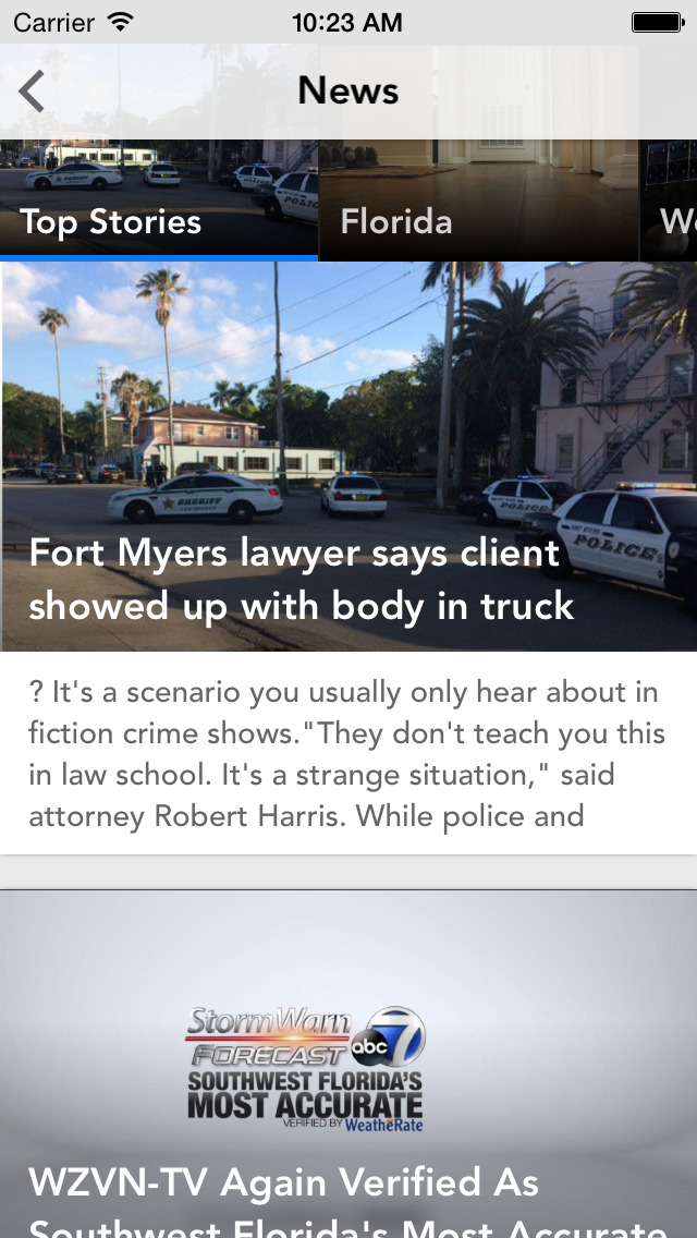 ABC7 News Fort Myers-Naples screenshot 2