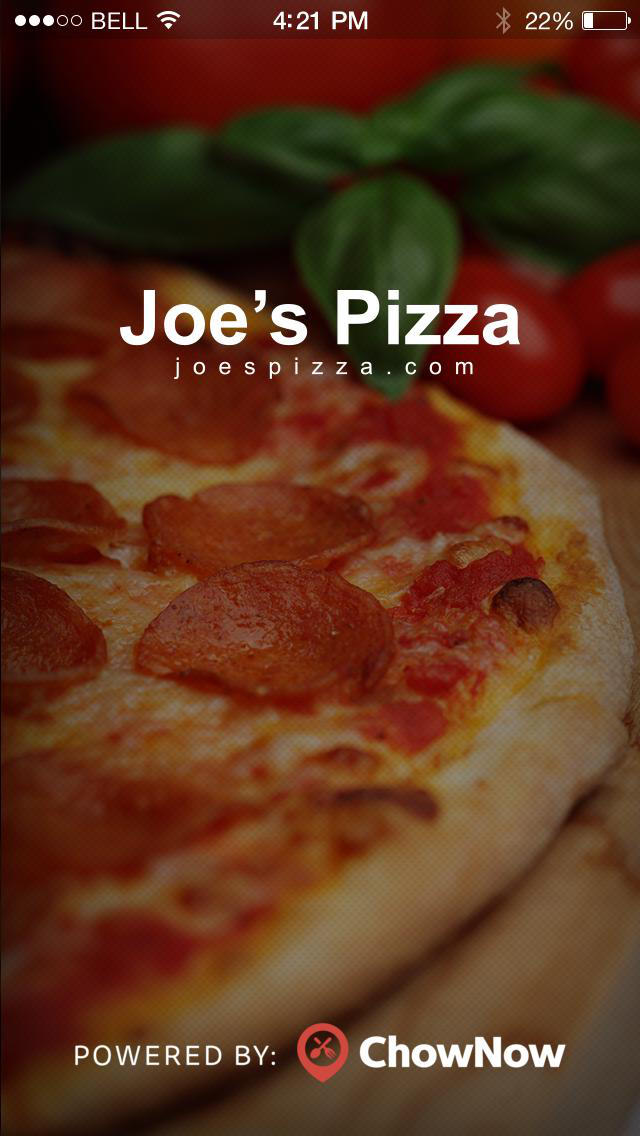 Joe's Pizza - Santa Monica screenshot 1