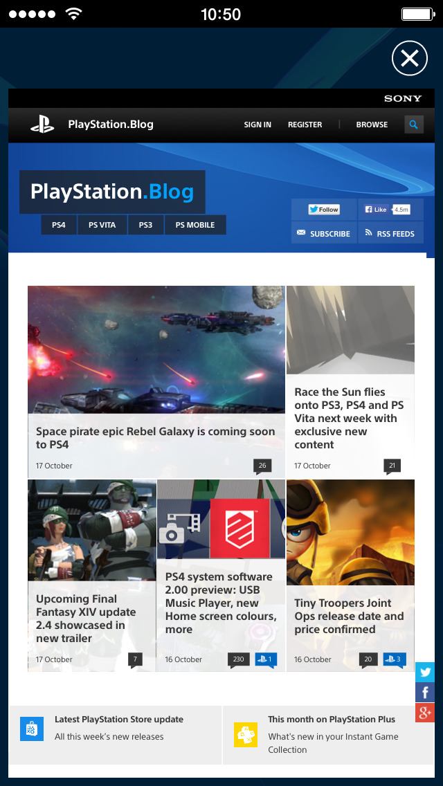 PlayStation App screenshot 4