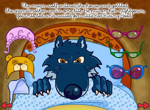 The little red riding hood - Multi-Language book screenshot 10