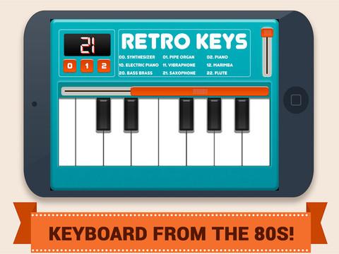 Retro Keys Plus - náhled