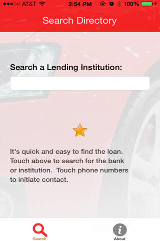 Auto Loan Payoff Directory - náhled