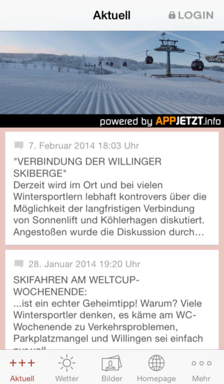 Skigebiet Willingen screenshot 1