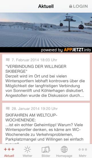 Skigebiet Willingen screenshot 1