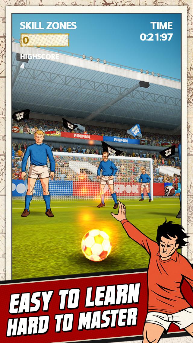 Flick Kick Football Kickoff screenshot #2