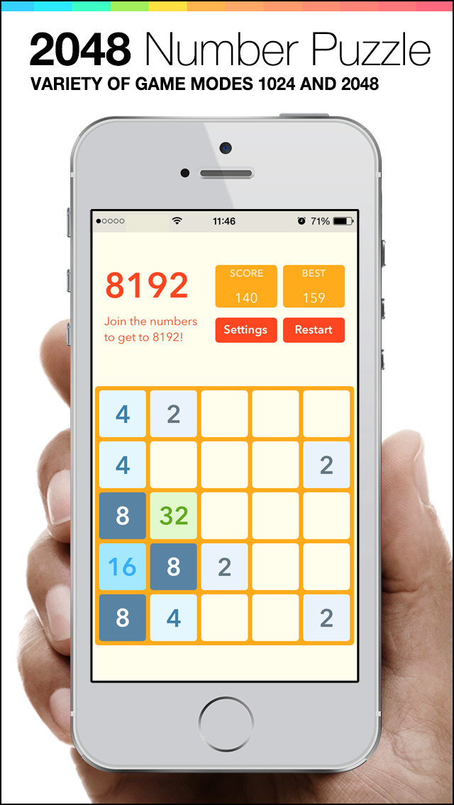 2048 Plus - Mobile Number Puzzle game screenshot 5