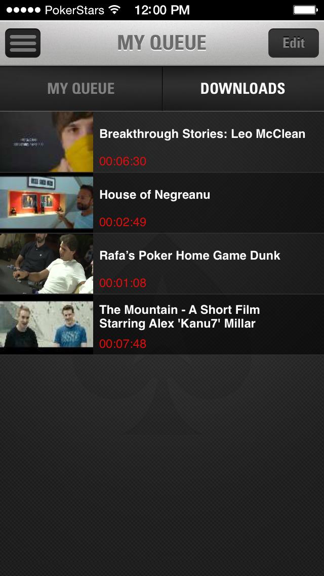 PokerStars TV screenshot 5