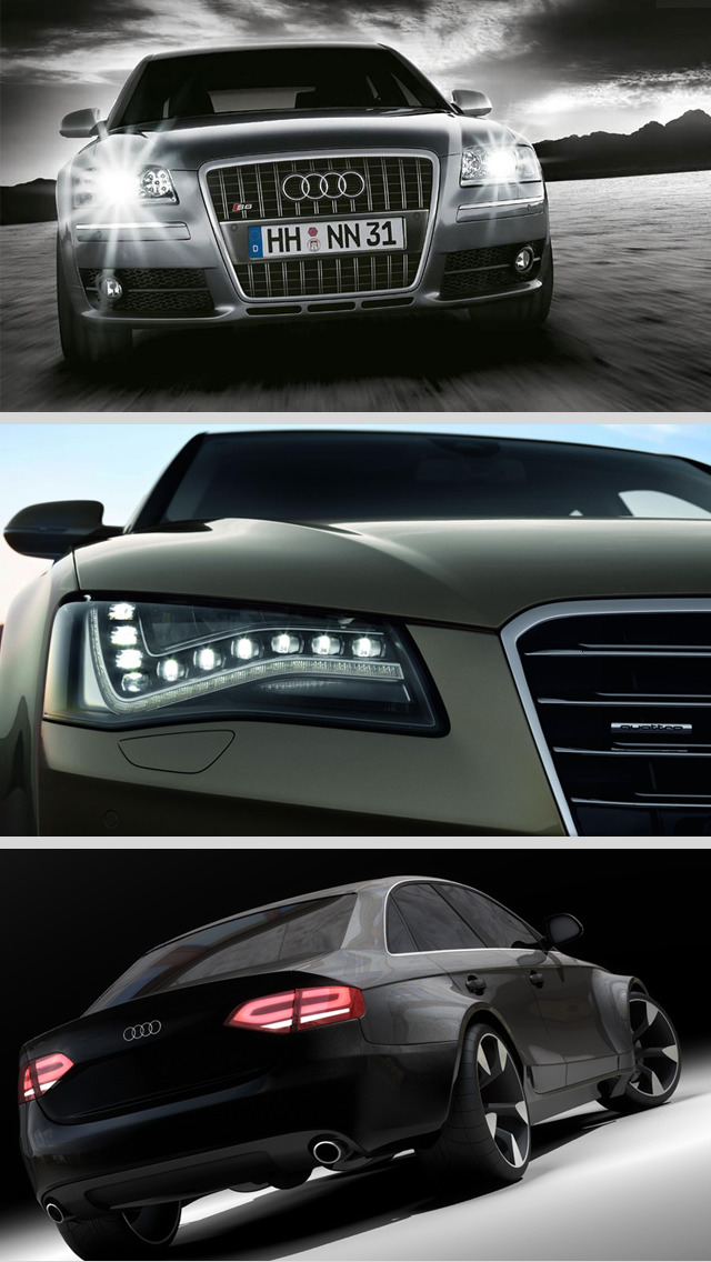 Luxurious Wallpapers of Audi PRO - The Cool Retina HD Picture Collection of Expencive Audi Cars screenshot 3