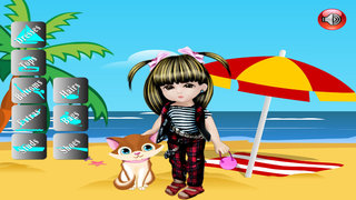 Baby On Beach Dress Up screenshot 2