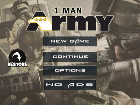One Man Army HD screenshot 1