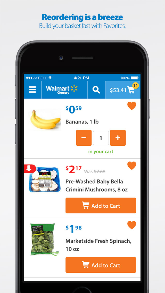 Walmart Grocery Shopping screenshot 4