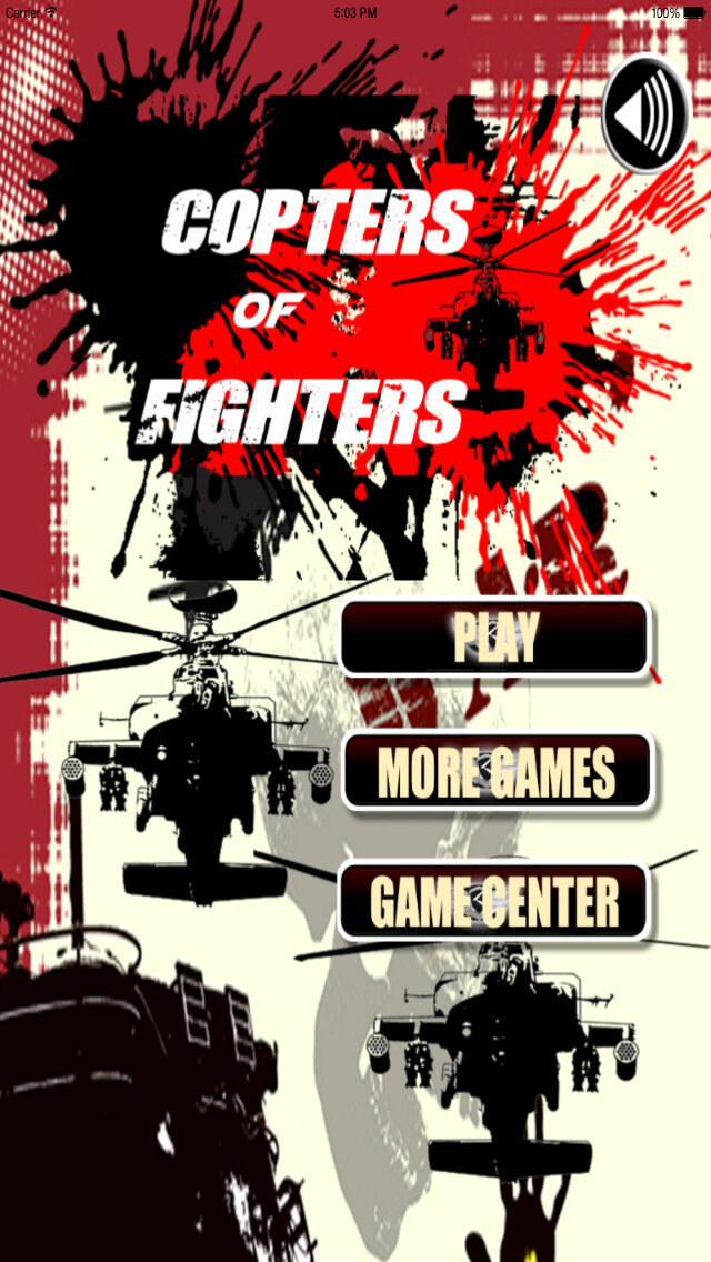 Copters Of Fighters Pro - Iron Air Force Attack screenshot 1