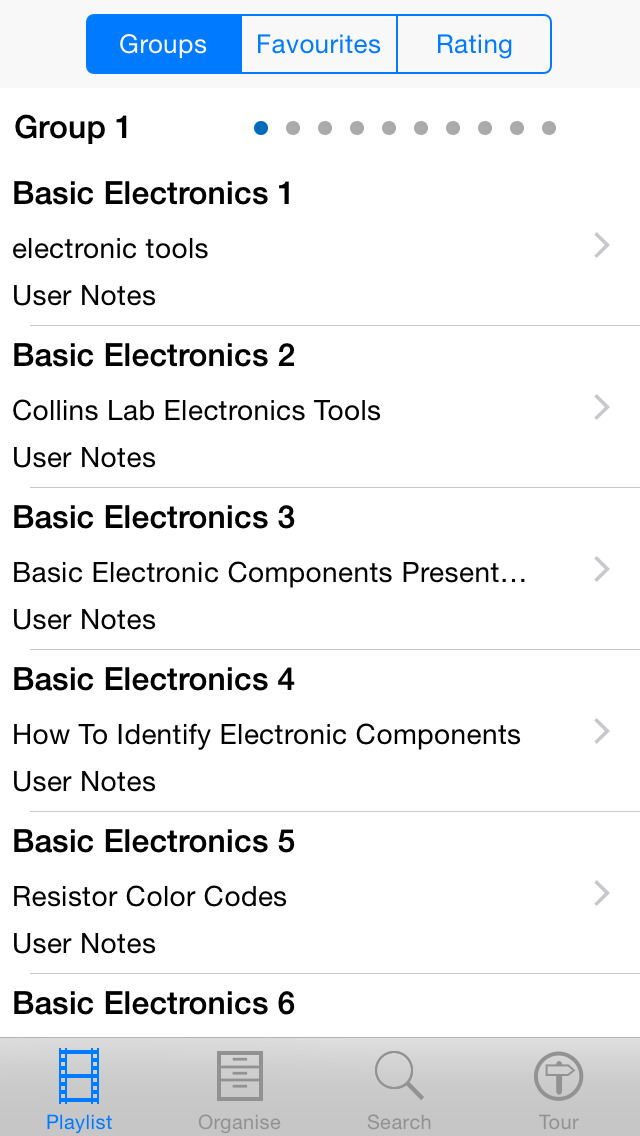 Basic Electronics screenshot 2