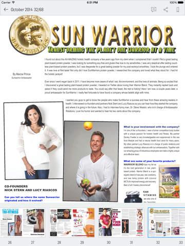 Natural Muscle Magazine screenshot 10