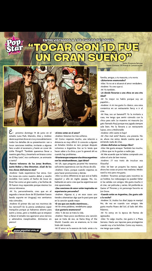 Pop Star (revista) screenshot 2