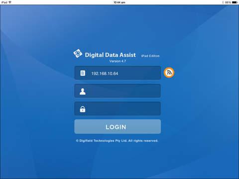 DigitalAssistApp - náhled