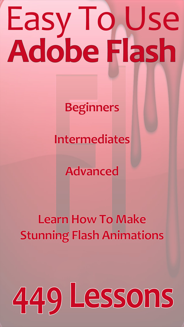 Easy To Use! For Adobe Flash screenshot 1