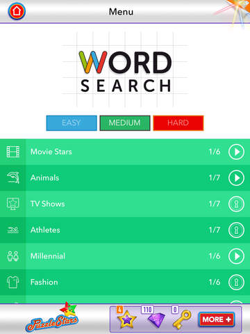 Word Search ~ free word search puzzles screenshot 7