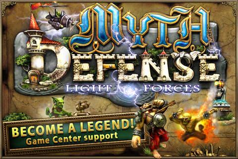 Myth Defense HD: Light Forces - náhled