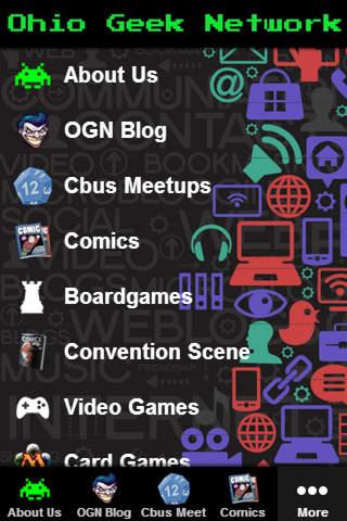 Ohio Geek Network - náhled