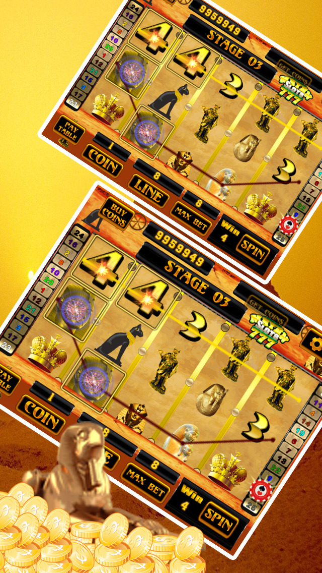 Ancient Aztec Slots Pro screenshot 4