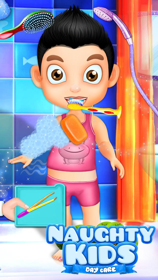 Naughty Kids Day care screenshot 4